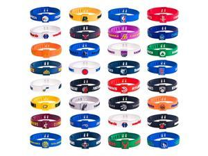 NBA Basketball Sports Bracelet Silicone Wristband Utah Jazz Team Wrist Bands