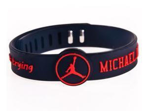 Sports Bracelets NBA Silicone Wristbands Basketball Player Michael Jordan
