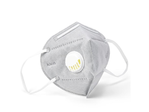 15PCS Reusable KN95 Mask 6-layers - Valved Face Mask N95 Protection Face Mask Folding Fespirator Gray