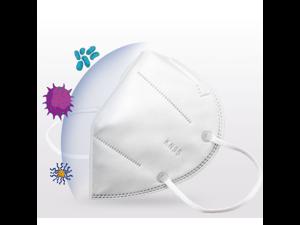 10PCS KN95 N95 mask 5 layers Anti-Fog FFP2 Dust Mask PM2.5 Face Masks White