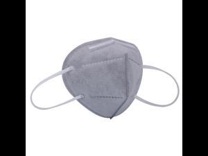 25PCS KN95 Mask JINJIANG 5 layers Face Mask Air Anti-Dust Anti-Fog PM 2.5 Gray
