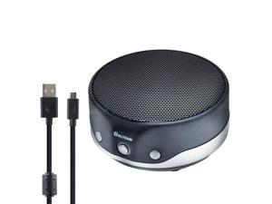 ALTEAM Easy Carry USB Speakerphone Plug Play Video Conference Meeting for Frequent Travellers, Voice Pick Up Within 2M Radius, 2 Clear Speakers, for Skype Webinar Voip Softphone Zoom MS Office macOS