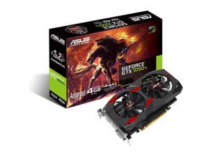 ASUS Cerberus GeForce GTX 1050 Ti 4GB GDDR5 Gaming Graphics Card, CERBERUS-GTX1050TI-A4G