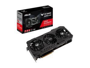 ASUS TUF Gaming Radeon RX 6700 XT OC Edition Graphics Card (AMD RDNA 2, PCIe 4.0, 12GB GDDR6, HDMI 2.1, DisplayPort 1.4a, Dual Ball Fan Bearings, All-aluminum Shroud) - TUF-RX6700XT-O12G-GAMING