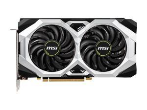 MSI GeForce RTX 2060 DirectX 12 RTX 2060 VENTUS GP OC 6GB 192-Bit GDDR6 PCI Express 3.0 x16 HDCP Ready Video Card