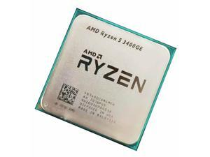 OEM - AMD Ryzen 5 3400GE R5-3400GE 3.3-4.0 GHz 4 CORE 8Thr 4MB 12nm AM4 CPU Desktop Processor - Without Box,No Cooler