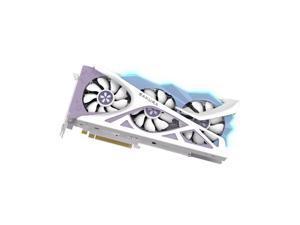 Yeston Radeon RX 6800 XT Edition DirectX 12 Ultimate D6 16GB 256-Bit GDDR6 PCI Express 4.0 x16 Video Card, White/Blue Limited Edition GPU, White/Blue RGB Video Card