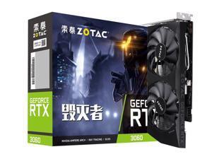 ZOTAC GeForce  RTX 3060-12GD6 Destroyer,Gaming Graphics Card,(PCIe 4.0, 12GB GDDR6,HDMI 2.1, DisplayPort 1.4a),RTX 3060-12GD6 Destroyer LHR Video Card