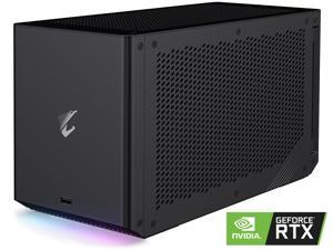 GIGABYTE AORUS RTX 3090 GAMING BOX eGPU, WATERFORCE All-in-One Cooling System, Thunderbolt 3, GV-N3090IXEB-24GD External Graphics Card