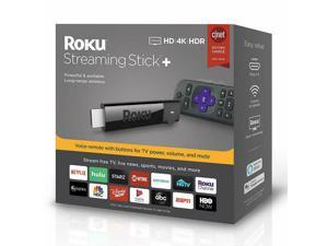 Roku 4K HD HDR Media Streaming Stick+ Voice Remote 3810R