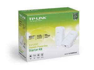 TP-Link AV1200 Powerline Gigabit Ethernet Adapter TL-PA8010 KIT New