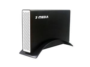 X-MEDIA 3.5-Inch USB 3.0 SATA I/II/III Aluminum Hard Disk Drive HDD External Enclosure Case [XM-EN3251U3-BK]