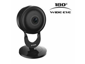 Open.Box - 2 pack D-Link DCS-2630L Full HD 180-Degree Wi-Fi Camera - Black