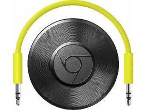 Google Chromecast Audio Media Streamer - Black - Open.Box