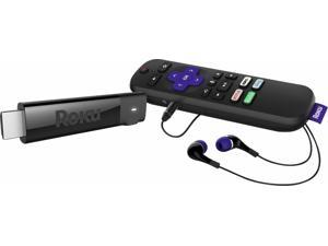 ROKU - STREAMING STICK+ 4K HEADPHONE EDITION WITH VOICE REMOTE WITH TV POWER AND VOLUME STREAMING MEDIA PLAYER - BLACK(3811R)