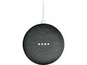 Google Home Mini Smart Speaker with Google Assistant Charcoal Chalk Coral Aqua - Open.Box