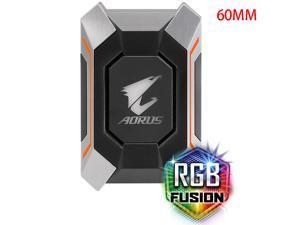 GIGABYTE AORUS N10 SLI HB Bridge RGB Light Supports AORUS Dual Graphics Card Crossfire 60MM