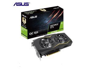 ASUS Gaming GeForce GTX 1660 SUPER Overclocked 6GB Dual-fan Edition HDMI DP DVI Gaming Graphics Card (GTX1660S-O6G-GAMING)