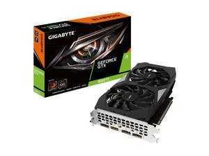 GIGABYTE GeForce GTX 1660 Ti DirectX 12 GV-N166TOC-6GD 6GB 192-Bit GDDR6 PCI Express 3.0 x16 ATX Video Card