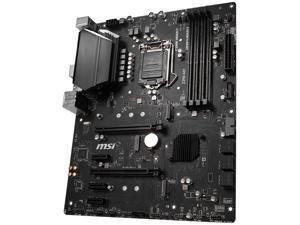 MSI Z390-S01 Motherboard LGA 1151 Intel Z390 ATX DDR4 M.2 Support 9700K 9900K