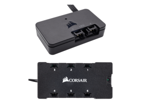 CORSAIR Link Lighting Node PRO + Lightning Node Core Hub RGB