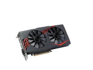 ASUS Radeon RX 580 8GB GDDR5 CrossFireX Support Video Card EX-RX580-2048SP-8G - OEM Packaging, BrandNew,Without Box,No Warranty