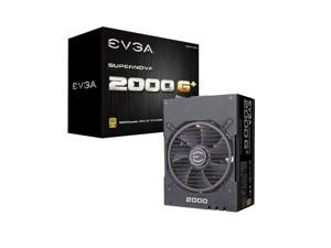 EVGA SuperNOVA 2000 G+ 2000W Computer Power Supply,80PLUS Gold Medal,Full Module,FDB Bearing Fan,Full Japanese Capacitor,Suitable For Working Under 220V,2000W Mining Power Supply