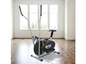 Indoor Elliptical Machine Cross Trainer Exercise Bike Cardio Fitness Equipment