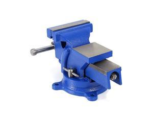 """4"""" Heavy Duty Work Bench Vice Workshop Clamp Engineer Jaw Swivel Base w/Table"""