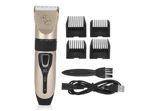 Pet Professional Dog Grooming Clippers Kit Set For Dog Cat Hair Trimmer Groomer USB Electric Animal Pet Dog Cat Hair Trimmer Shaver Razor Grooming Machine