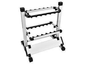 12 Rods Rack Fishing Rod Pole Holder Storage Stand Aluminum Alloy Lightweight - Fishing Rods Stand, Fishing Rod Holder, Fishing Pole Rack, Fishing Pole Organizer, Fishing Rods Stand Rack
