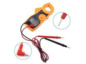 Digital LCD Clamp Meter Multimeter AC DC Voltmeter Ammeter Ohmmeter Volt Tester - Digital Multimeter, Voltmeter, Ammeter, Ohmmeter, VOM Tester