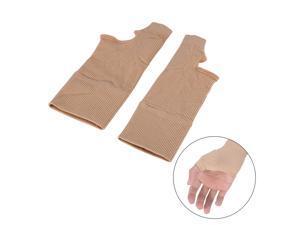 1 Pair Wrist Hand Support Glove Elastic Brace Sleeve Sports Bandage Wrap US