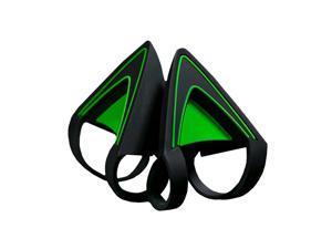 Kitty Ears for Razer Kraken - Water Resistant Construction - Green