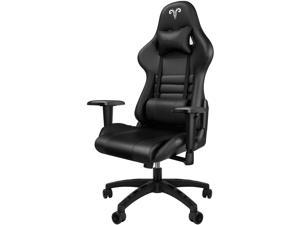 Gaming Chair Racing Style High-Back Office Chair with Adjustable Armrests PU Leather Executive Ergonomic Swivel Video Game Chairs with Headrest and Lumbar Support