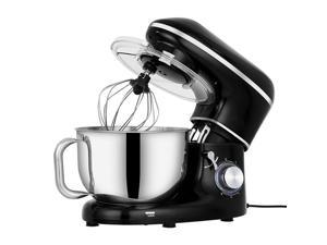 660W Electric Stand Mixer with Whisk Food Stand Mixer 4.2L Stainless Steel Mixing Pot Home Chef Machine Dough Mixer Kitchen Tool 6 Speeds Setting for Home Baking