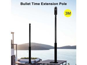 3M Aluminum Alloy Monopod Selfie Stick For Insta360 One X/DJI OSMO Action/DJI Pocket 2/Gopro Hero 9 6 5 Camera Accessories