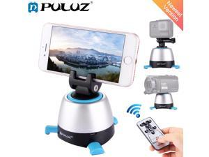 Electronic 360 Degree Rotation Panoramic Tripod Head with Remote Controller Rotating Pan Head For Smartphones, GoPro, DSLR