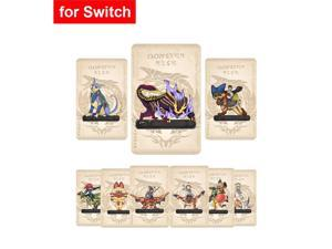 For Nintendos Switch Monster Hunters Rise amxxbo Card Resent Tiger Dragon Ailu Cat NS Game Reward Card NFC cards