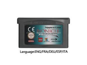 Bionicle Heroes Video Game Cartridge Console Card EU Version For Nintendo GBA