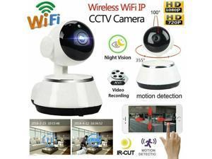 Wireless V380 720P HD WIFI Security IP Camera IR Night Home Webcam Baby Monitor