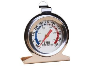 Stainless Steel Oven Cooker Thermometer Temperature Gauge Oven BBQ Meat Temperature Measure