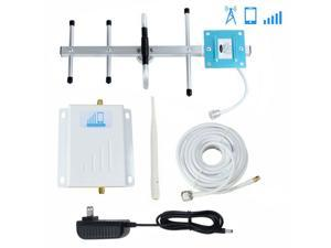 4G Cell Phone Signal Booster Verizon 700MHz Band 13 FDD Mobile Signal Repeater Amplifier Antenna Kits With Outdoor Directional Yagi Antenna and Indoor Omni Directional Whip Antenna 50ft Coaxial Cable