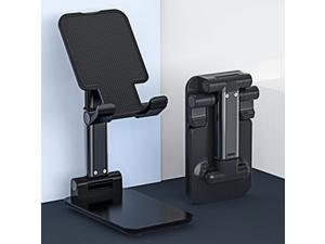 Desktop Cell Phone Stand Holder, Foldable Tablet Stand, Portable Universal Desk Stand for All Mobile Smart Phone Tablet