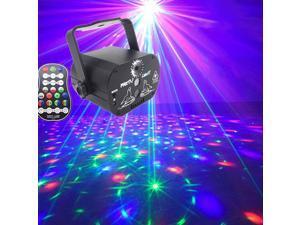 60 Pattern Laser Projector Stage Light LED RGB Party KTV Club DJ Disco Lights
