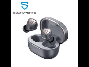 SoundPEATS Sonic Wireless Earbuds in-Ear Bluetooth Headphone, Bluetooth 5.2 Earbuds APTX-Adaptive Wireless Earphones with Immersive Bass, TrueWireless Mirroring 35 Hrs USB-C Mono/Stereo Game Mode