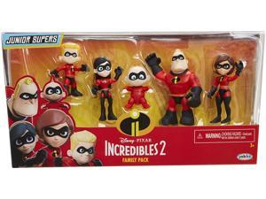 Incredibles 2 Family Pack Action Figures