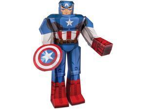 Captain America Blueprint Papercraft 12 inch Figure