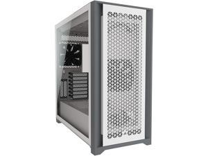 Corsair 5000D Airflow Tempered Glass Mid-Tower ATX PC Case - White