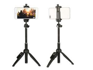 Phone Tripod Portable Adjustable Camera Stand Holder With Wireless Remote Selfie Stick